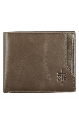 Wallet Leather John 3:16