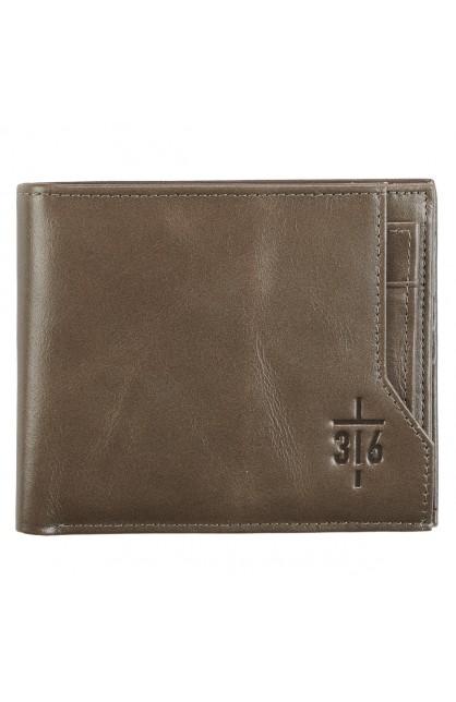 Wallet Leather John 3:16