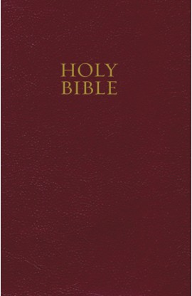 NKJV CLASSIC PEW BIBLE HARDCOVER BURGUNDY