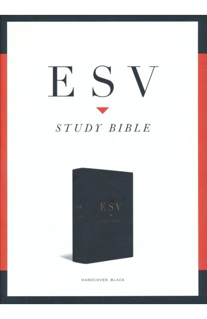ESV STUDY BIBLE BLACK