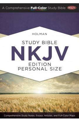 HOLMAN STUDY BIBLE NKJV PERSONAL SIZE HARDCOVER