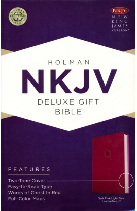 NKJV DELUXE GIFT BIBLE PINK LEATHER