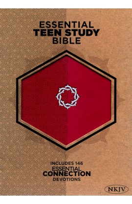 NKJV ESSENTIAL TEEN SUDY BIBLE ROSE LEATHER
