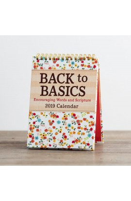 BACK TO BASICS DESKTOP CALENDAR