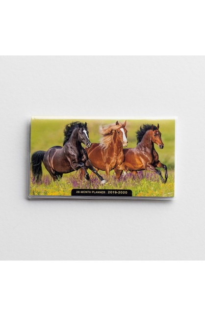 HORSES 28 MONTHS PLANNER
