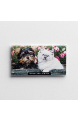 WHISKERS & PAWS 28 MONTHS PLANNER