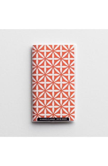 CORAL ABSTRACT 28 MONTHS PLANNER