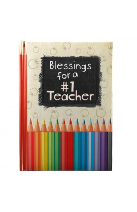 Blessings for a number 1 Teacher Gift Book