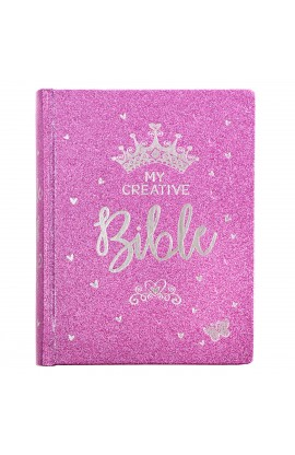 ESV HC My Creative Bible for Girls Purple Glitter
