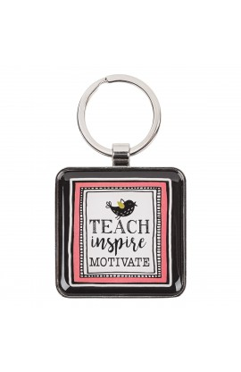 KEYRING EPOXY TEACHER