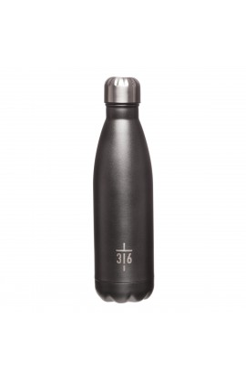 SS Water Bottle 3:16 Cross