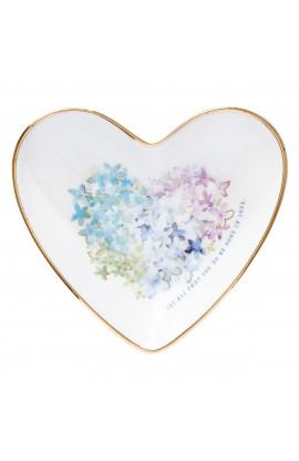 Trinket Tray Violet Heart
