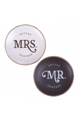 Trinket Tray Mr & Mrs