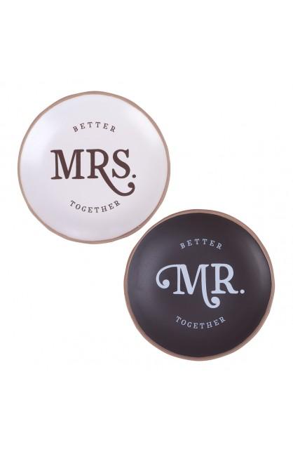 Trinket Tray Mr & Mrs