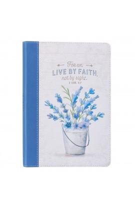 Jnl LL Thinline Live by Faith 2 Cor 5:7