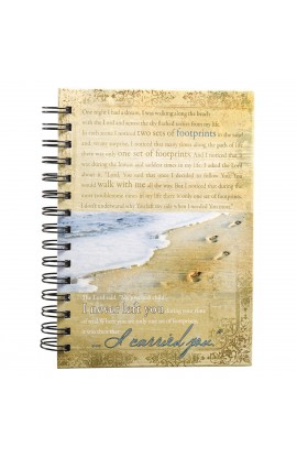 Footprints Wirebound Journal