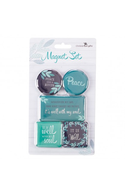 Magnet Set of 5 It is Well