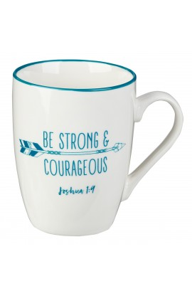 Mug Value Strong & Courageous