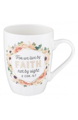 Mug Value Live Faith Floral