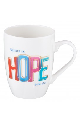 Mug Value Rejoice in Hope