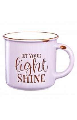 Camp Mug Chip Let Your Light Shine Ppl