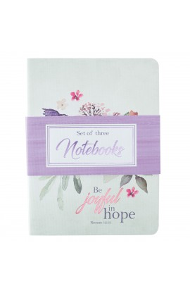 Notebook Set of 3 Rejoice