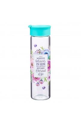 WBT Glass Pastel Floral