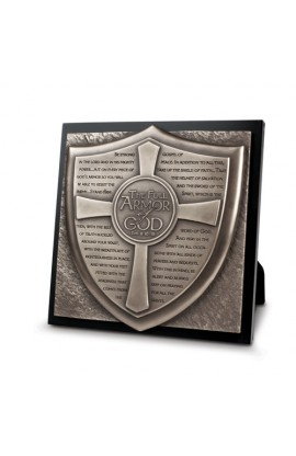 Plaque Sculpture Moments of Faith Full Armor of God