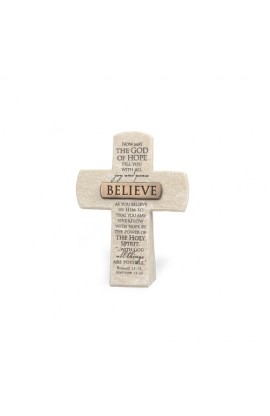 Cross Desktop Resin Bronze Title Bar Believe