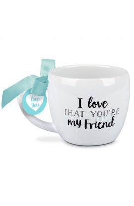 Ceramic Mug I Love That Friend
