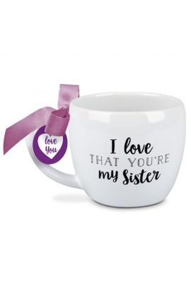 Ceramic Mug I Love That Sister