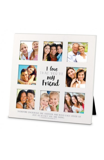 Frame Collage MDF I Love That Friend