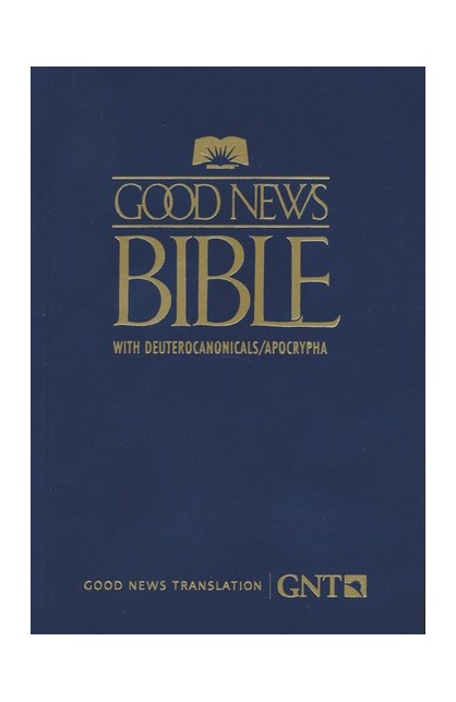 GNT Good News Bible with Deuterocanonicals/Apocrypha, Paper, Blue