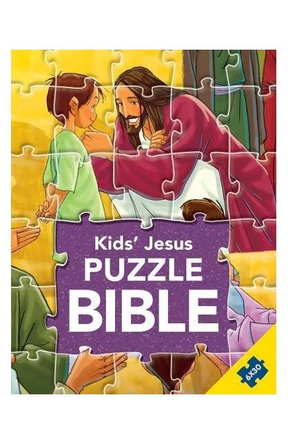 KIDS JESUS PUZZLE BIBLE