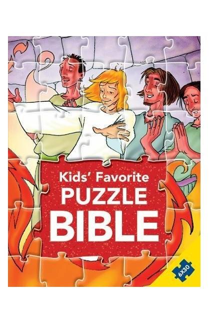 KIDS FAVORITE PUZZLE BIBLE