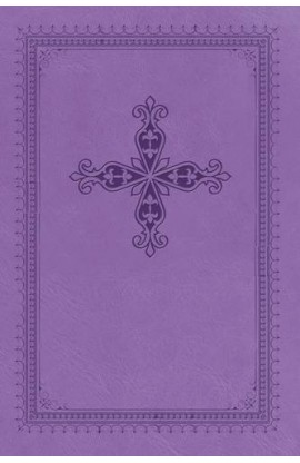 NKJV UltraSlim Bible Lavender Leathersoft Silver Gilded Pages Thumb Indexed