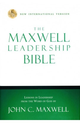 The Maxwell Leadership NIV Study Bible 4282 Coffee Bean Leathersoft