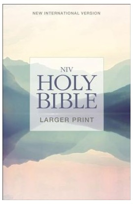 NIV Holy Bible Larger Print Paperback