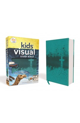 NIV Kids' Visual Study Bible Teal Imitation Leather