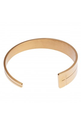 Bracelet Tapered Cross Cuff