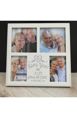 Frame Collage MDF Anniversary Love 40th