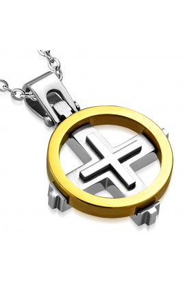 ST Sun Cross Pendant