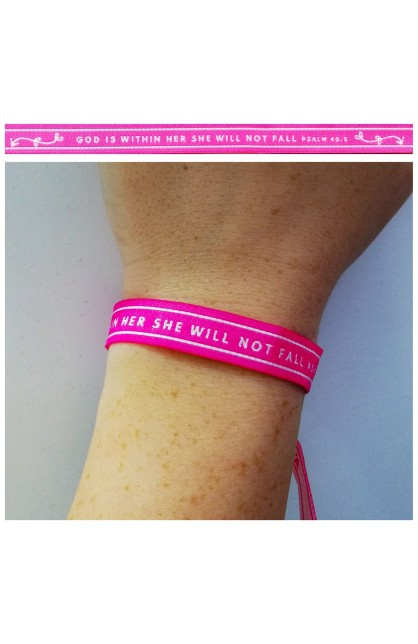 God Is Within Her AYAT New Tie Band 30 cm