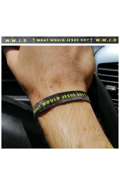 WWJD AYAT New Tie Band 30 cm