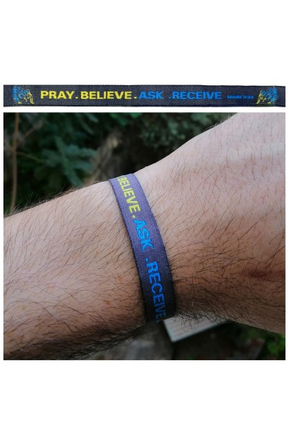 Pray Believe AYAT New Tie Band 30 cm