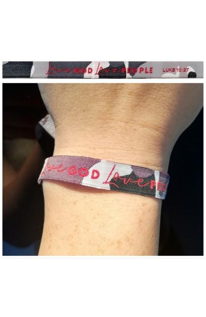 Love God Grey AYAT New Tie Band 30 cm