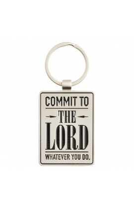 Keyring in Tin Commit to the Lord