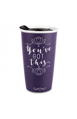 Tumbler Mug Double Wall Ceramic Affirmed You've Got This