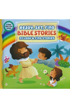 Ready Set Find Bible Stories 22 Look and Find Stories