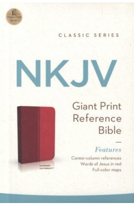 NKJV Giant Print CenterColumn Reference Bible